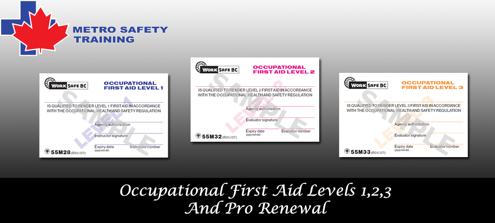 Occupational first aid level 2 responsibilities