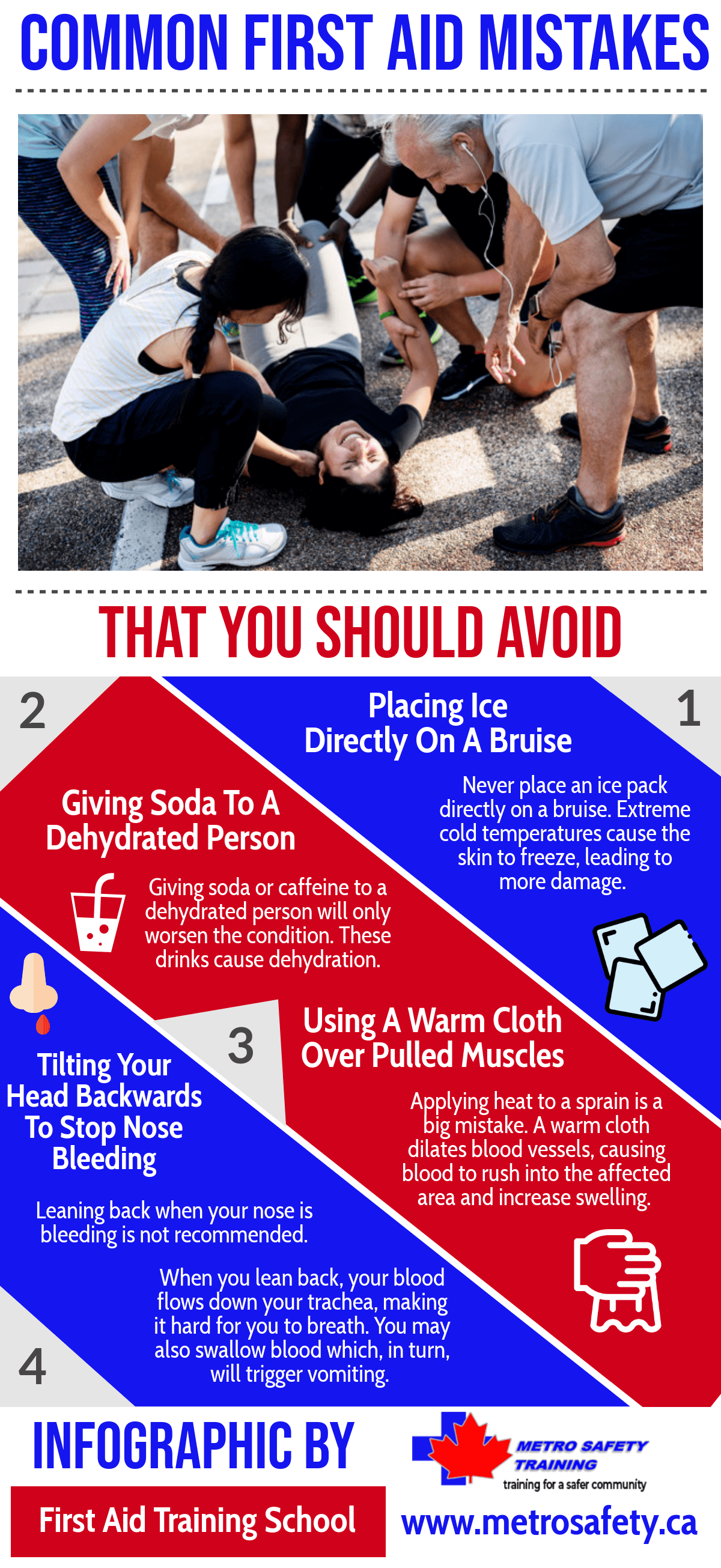 Common First Aid Mistakes That You Should Avoid