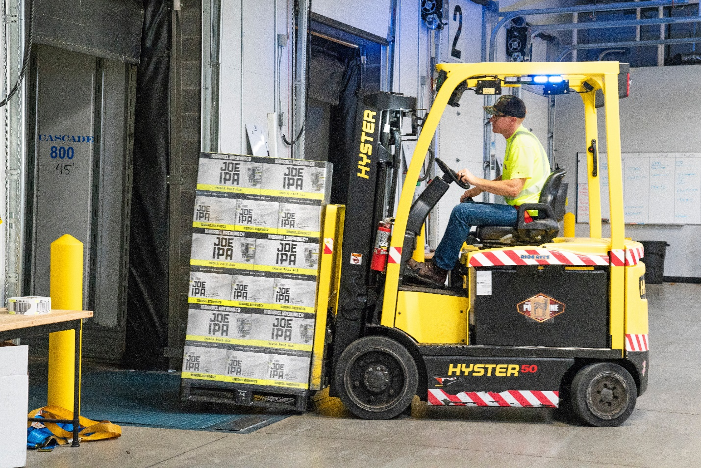 Forklift training enhances safety in the workplace